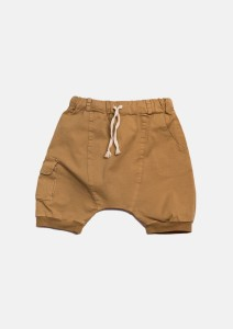 Szorty 077 POCKET SHORTS mustard