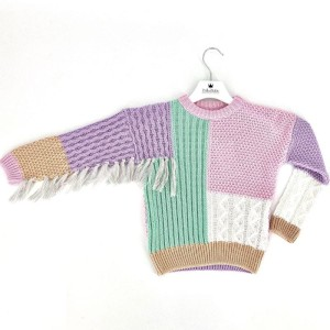 SWEATER INDIAN PUDER (mama&córka)